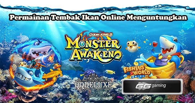 Permainan Tembak Ikan Online Menguntungkan